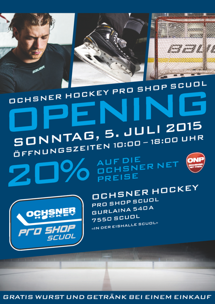 Ochsner Hockey Pro Shop Scuol