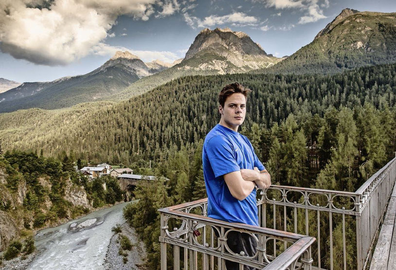 Auston Matthews in Scuol